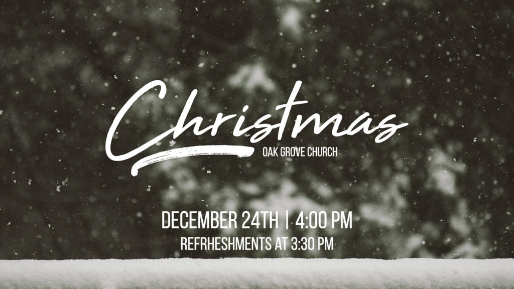 Christmas Eve Service @ Oak Grove Church | Golden Valley | Minnesota | United States